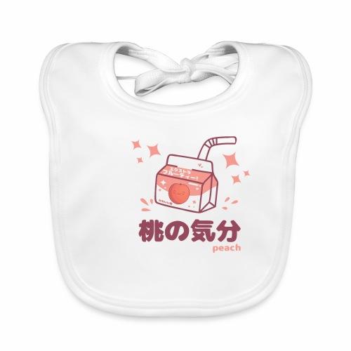 Kawaii Peach Mood Shirt - Baby Bio-Lätzchen