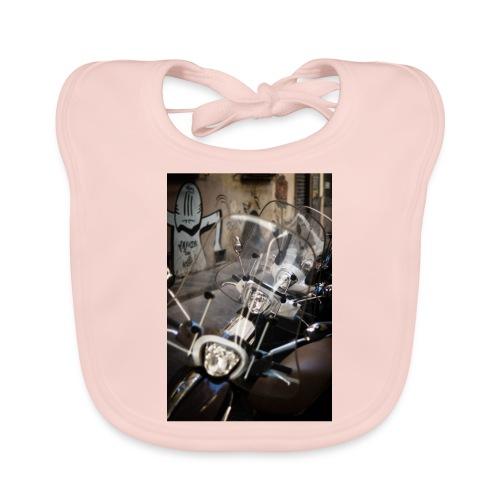 motorbike roller - Baby Bio-Lätzchen
