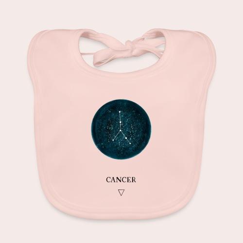 Sternzeichen Astro Cancer - Baby Bio-Lätzchen