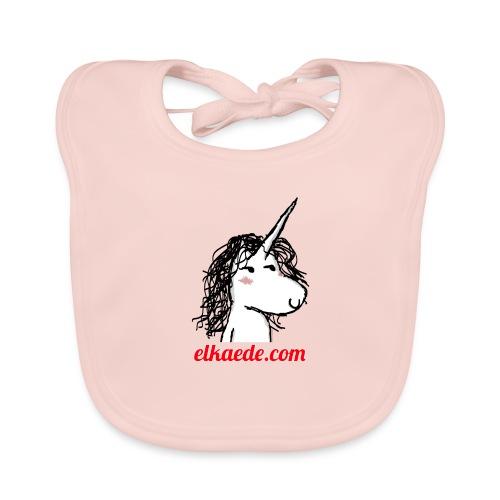 Kaede the Unicorn - Bavaglino ecologico per neonato