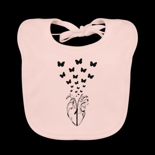 HEART BUTTERFLY - Bavaglino