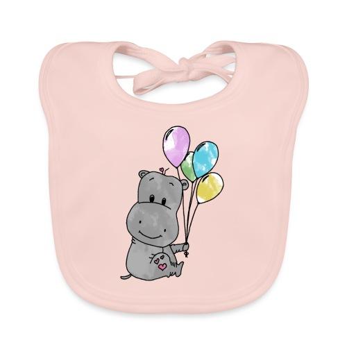Hippo - Baby Bio-Lätzchen