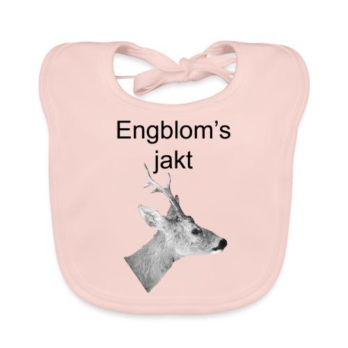 Officiell logo by Engbloms jakt - Ekologisk babyhaklapp