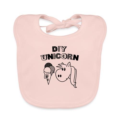 DIY Unicorn Einhorn - Baby Bio-Lätzchen