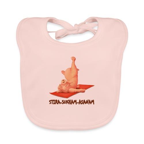 Schweindi-Stira-Sukham - Baby Bio-Lätzchen