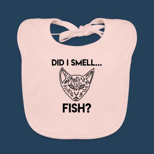 Did I smell fish? / Rieche ich hier Fisch? - Baby Bio-Lätzchen