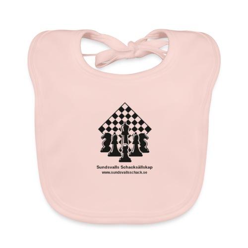 Sundsvalls Schacksällskap - Ekologisk babyhaklapp