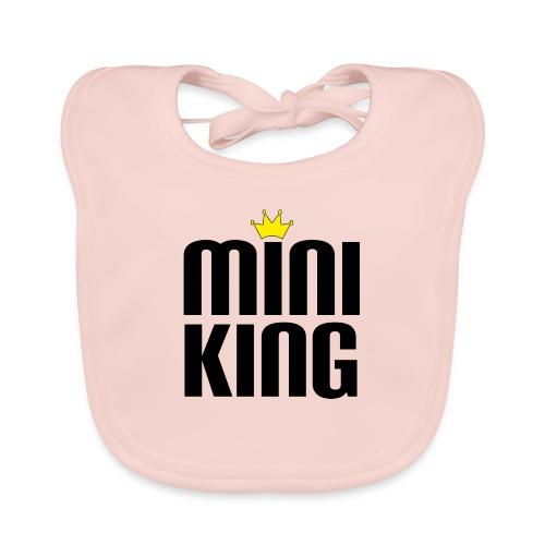 MiniKing Baby Kleinkind Geschenk - Baby Bio-Lätzchen