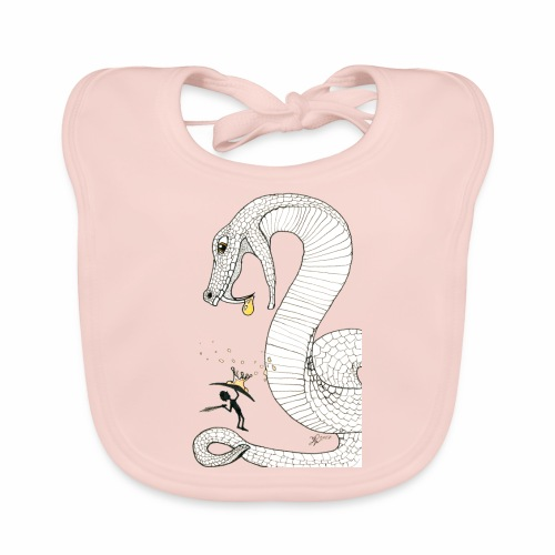 Poison - Fight against a giant poisonous snake - Baby Organic Bib