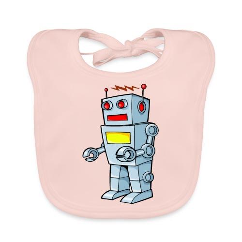 Robot - Bavaglino ecologico per neonato