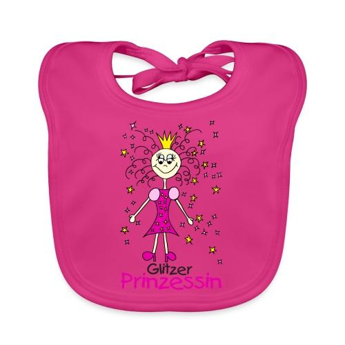 Glitzer Prinzessin - Baby Bio-Lätzchen
