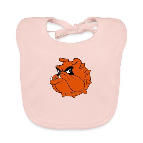 Bulldog Héros Animés - Bavoir bio Bébé