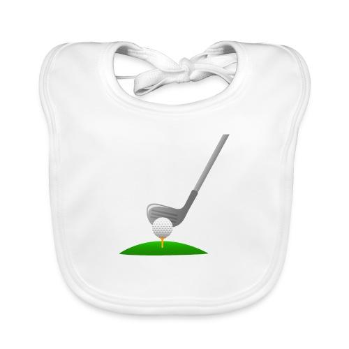 Golf Ball PNG - Babero ecológico bebé