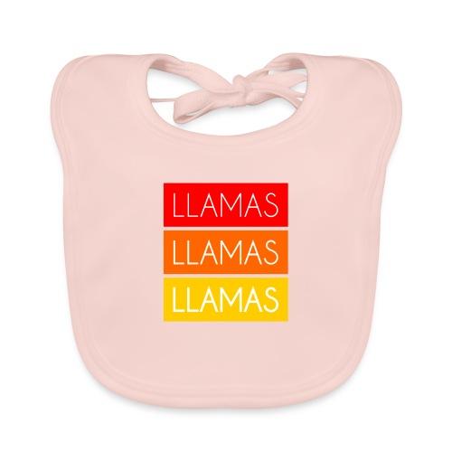 Llamas Llamas Llamas - Hagesmække af økologisk bomuld