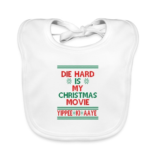 Die Hard Its Not Christmas - Vauvan ruokalappu