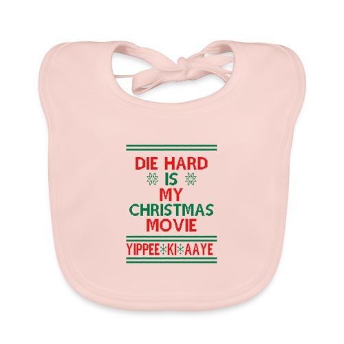Die Hard Its Not Christmas - Vauvan luomuruokalappu