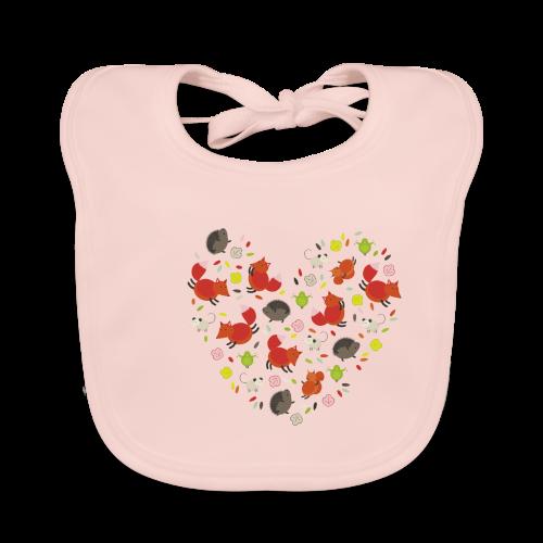 Metikössä - Vauvan ruokalappu
