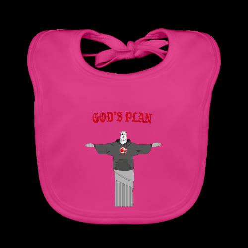 God's Plan - Bavoir bio Bébé