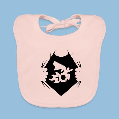 Wheelchair shirt 001 - Bio-slabbetje voor baby's