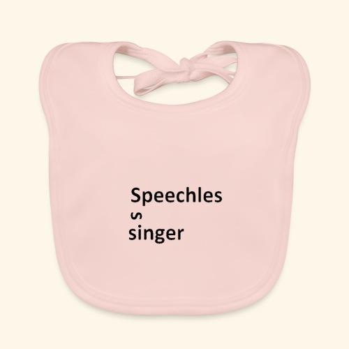 Speechless singer - Vauvan luomuruokalappu