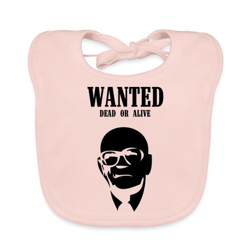 Kekkonen Wanted - Dead or Alive - Vauvan luomuruokalappu