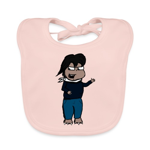 Carlitos Critter - Bavaglino ecologico per neonato