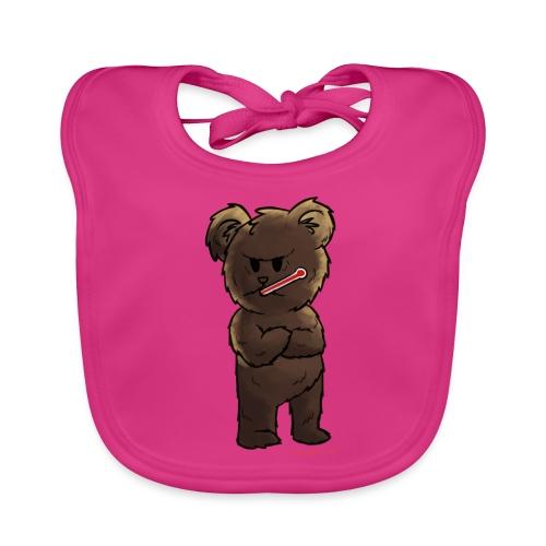 Fieber-Bär - Baby Bio-Lätzchen