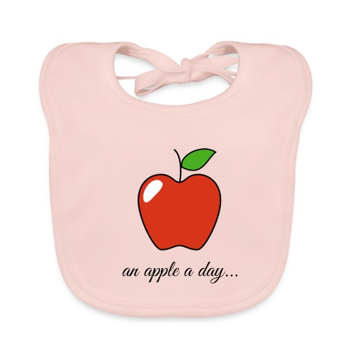An apple a day ... - Baby Organic Bib