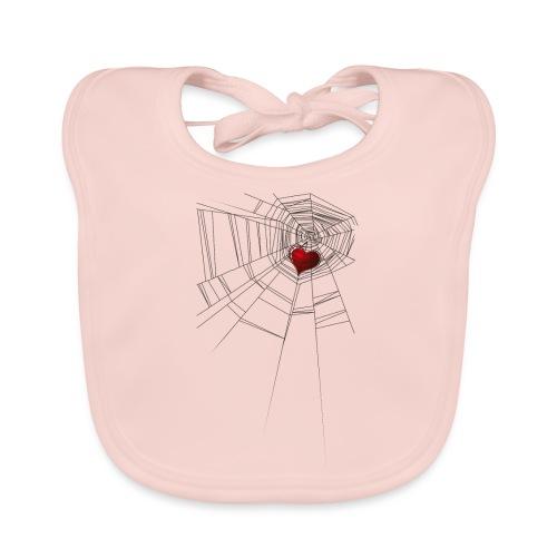 trappola_del_cuore - Bavaglino ecologico per neonato