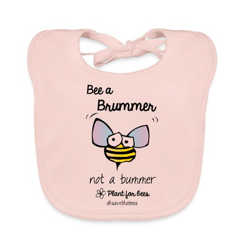 Bees6-2 Save the bees - Baby Organic Bib