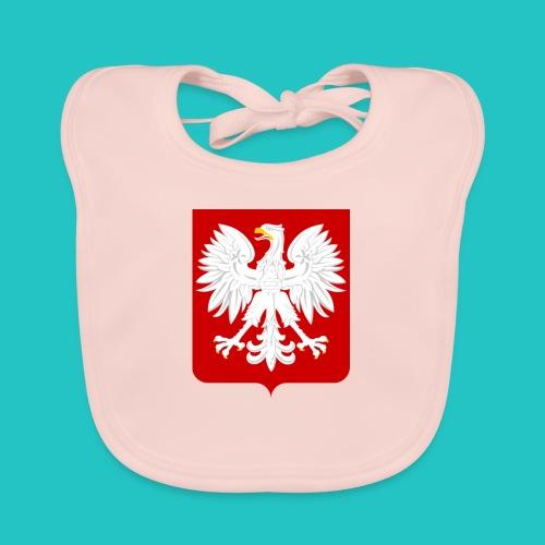 Koszulka z godłem Polski - Ekologiczny śliniaczek