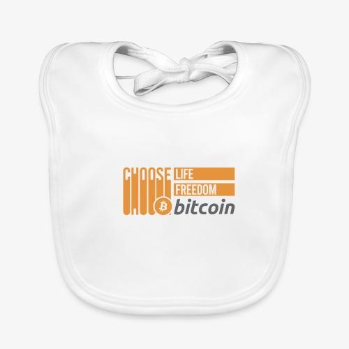 Bitcoin - Bavoir bio Bébé