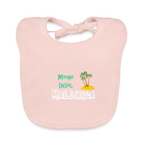 Mallorca meine Insel - Holiday Urlaub Ferien - Baby Bio-Lätzchen