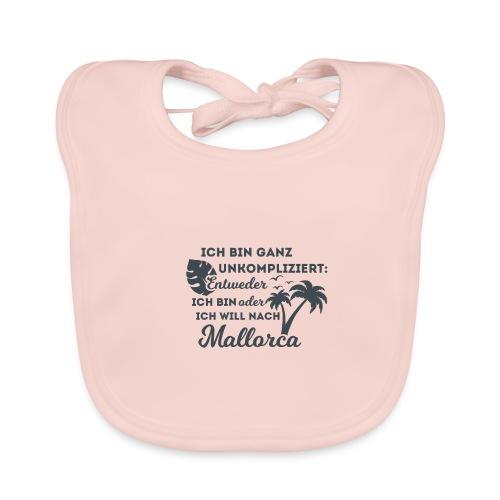 Mallorca - Entweder oder... - Baby Bio-Lätzchen