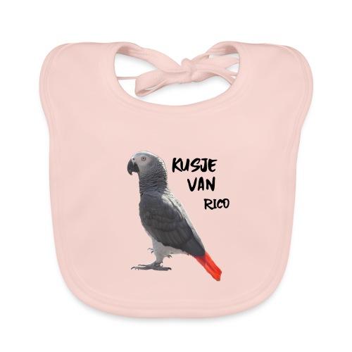 Kusje van Rico - Bio-slabbetje voor baby's