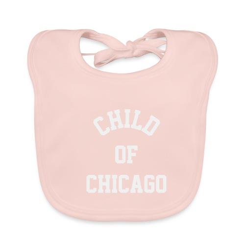 Child of Chicago 70tees w - Baby Bio-Lätzchen