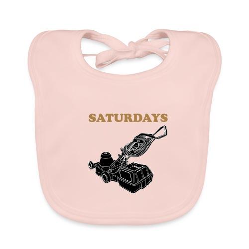 Saturdays Lawnmower - Organic Baby Bibs
