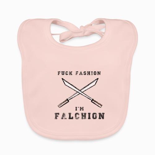 Fuck Fashion I m Falchion - Bavoir bio Bébé