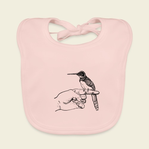 Kolibri Hand - Baby Bio-Lätzchen