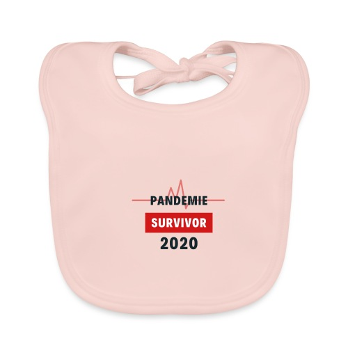 Pandemie Survivor - Baby Bio-Lätzchen