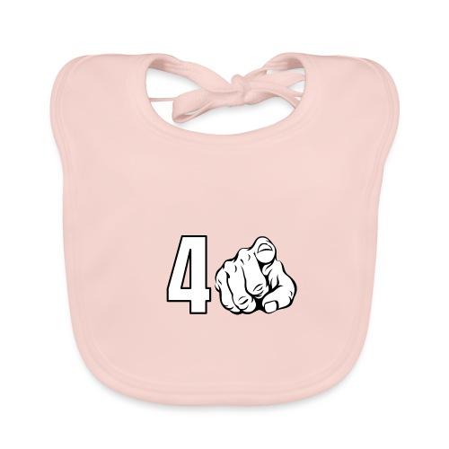 4 You - Babero de algodón orgánico para bebés