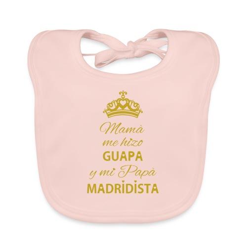 Guapa Madridista - Bavaglino ecologico per neonato