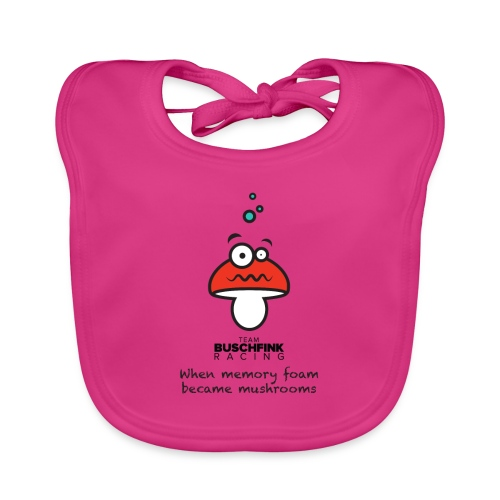 Memory Foam Logo - Baby Organic Bib