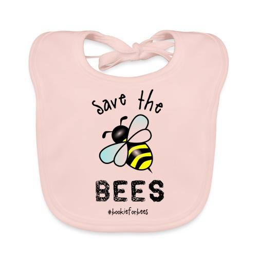 Bees4-1 save the bees | Bookrebels - Baby Organic Bib