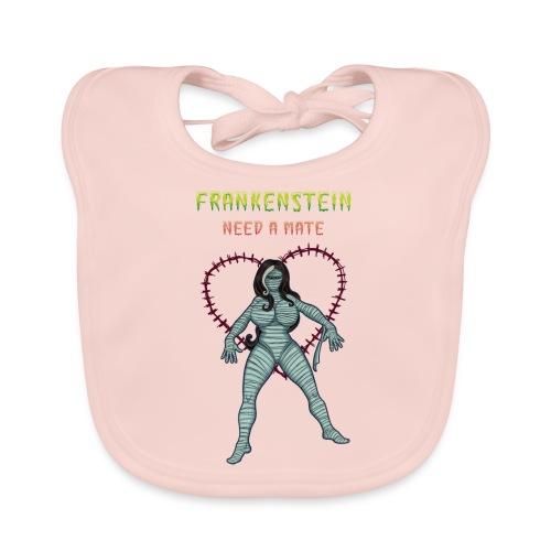 Frankenstein need a mate - Organic Baby Bibs