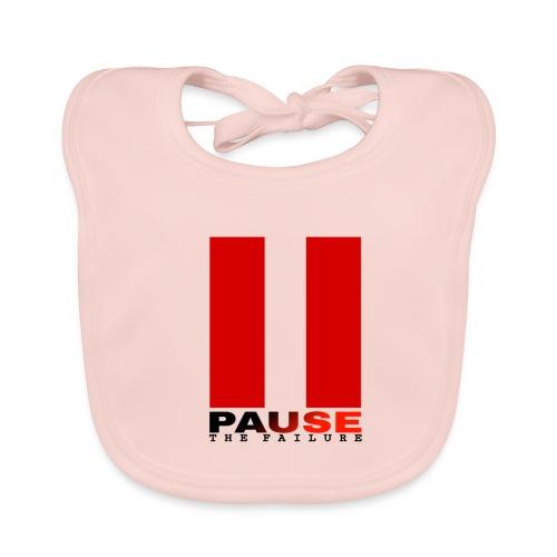 PAUSE THE FAILURE - Bavoir bio Bébé