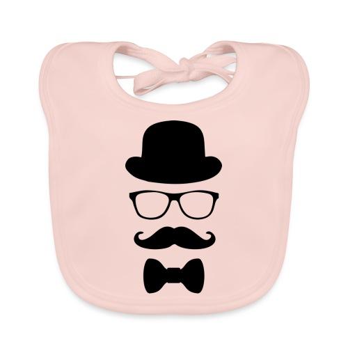 Mann mit Krawatte. - Baby Bio-Lätzchen