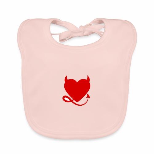 diablita - Babero de algodón orgánico para bebés
