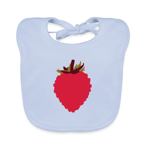 Wild Strawberry - Baby Organic Bib