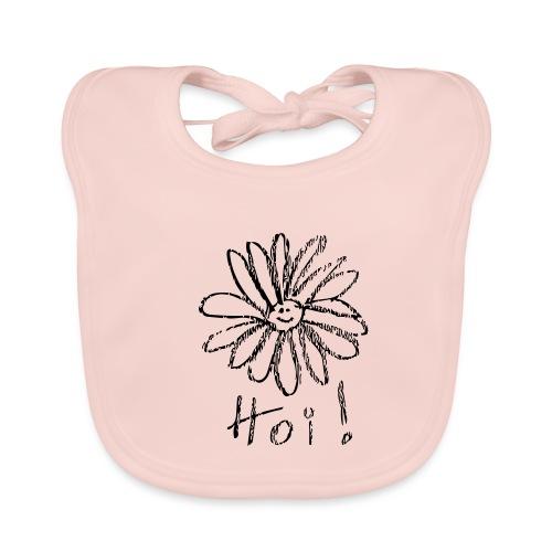 HoiBloem - Bio-slabbetje voor baby's